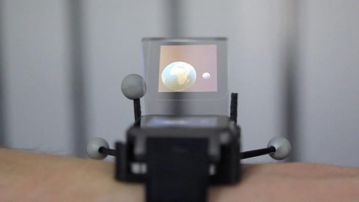 科研团队设计出未来增强现实手表